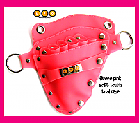UFO Pro Fluoro Pink Soft Touch Tool Case