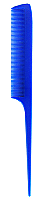 Stylers Tail Comb in Solid Colours-Deep Blue