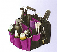 Tool Tote-in Purple and Black as shown-accessories not included