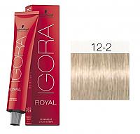 SCHWARZKOPF PROFESSIONAL IGORA ROYAL HAIR COLOR 12-2 SPECIAL BLONDE ASH 60g