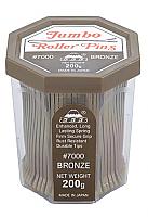 Jumbo Roller Pins 555 #7000 Bronze 200g