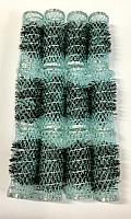 Swiss Brush Rollers Medium Pale Greyish Blue 12pk