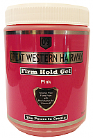 Great Western Hairway Hair Gel-Firm Hold-Pink-1Kg