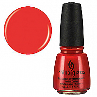 China Glaze Aztec Orange 14mL