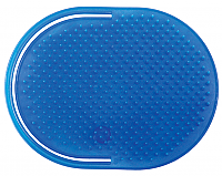 LUXOR SPECIALTY COLLECTION POCKET SLIP ON MASSAGER BRUSH - BLUE