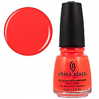 China Glaze Orange Knockout (Neon) 14mL