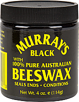 Murray's Black BEESWAX 3.5oz/100g
