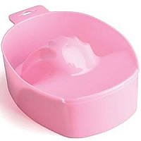 Professional Manicure Bowl Pink Plastic