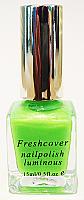 Luminart Neon Glow in the Dark Nail Polishes 15ml-Fluorescent Green
