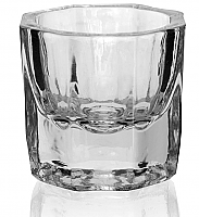 Pack of 12 Nirvana Glass Dappen Dishes (Lids not Included)