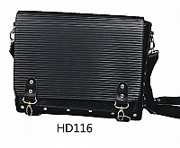 Beauty Case Black-Ideal as a carry case for Hairdresser's as well (HD116)