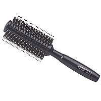 Brushworx Natural Woodgrain Porcupine Radial Hairbrush - Medium