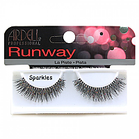 Ardell Professional Runway Lashes - Sparkles Black 1 Pair