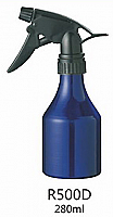 Water Sprayer-Aluminium Spray Bottle-Conical--280ml-Blue