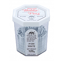 "Bobby Pins 555 #1200 1.5"" White 120g"
