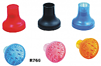 UFO Professional Finger Diffusers in assorted colours-White/Clear