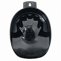Professional Manicure Bowl Black Plastic