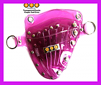 UFO Pro Transparent Plastic Coloured Tool Holster Purple