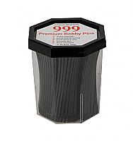 "999 Premium Bobby Pins 3"" - Black 250g"