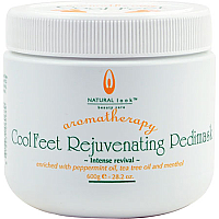 Natural Look Aromatherapy Cool Feet Rejuvenating Pedimask 600g
