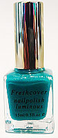 Luminart Neon Glow in the Dark Nail Polishes 15ml-Turquoise