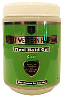 Great Western Hairway Hair Gel Flexi Hold Clear 1Kg