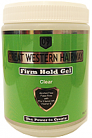 Great Western Hairway Hair Gel-Firm Hold-Clear-1Kg