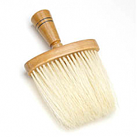 1717-2 Neck Brush Light Wood Handle with Nylon pins