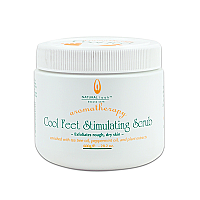 Natural Look Aromatherapy Cool Feet-Stimulating Scrub 600g