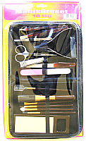 Manicure Set 18 piece in Vinyl Case