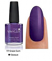CND Vinylux Weekly Polish - Grape Gum 15mL