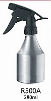 Water Sprayer-Aluminium Spray Bottle-Conical--280ml-Silver