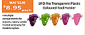 UFO Pro Transparent Plastic Coloured Tool Holster - Lime