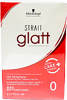 Schwarzkopf Glatt Hair Straightening Cream #0 ( 2 x 120mL)