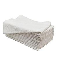 Beauty Decorator Towels  12pk - White