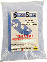 Salon Says Refined Dustless Blue Bleach-Made in Italy-500g bag