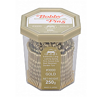 "Bobby Pins 555 #3000 2"" Gold 250g"