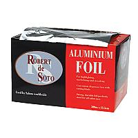 Desoto Aluminium Hairdressing Foils-300m Roll (Silver)