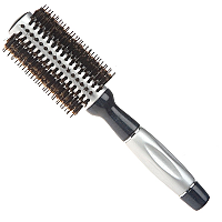 Brushworx Silver Bullet Boar Bristle Radial Hair Brush - Medium