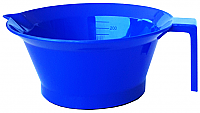 Just $5.95 incl GST for Pack of 3 x Plastic Tint Bowls Solid Navy Blue Colour 250ml