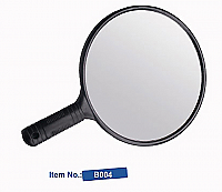 Round Mirror with Handle-B004