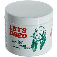 Lets Dred Natural Bees Wax 4Oz