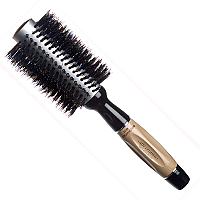 Brushworx Caffe Ceramics Boar Bristle Radial Hair Brush - Medium