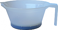 Plastic Tint Bowl Clear Transparent 250ml