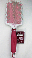 Olivia Garden NanoThermic Ceramic + Ion Round Pink Paddle Hair Brush NT-PDLP15K