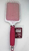 Olivia Garden NanoThermic Ceramic + Ion Round Pink Paddle Hair Brush NT-PDLP15K