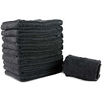 Heavy Duty Hairdressing Towels - Black - Pack of 10