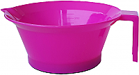 Just $7.95 incl GST for Pack of 3 x Plastic Tint Bowls Solid Hot Pink Colour 250ml