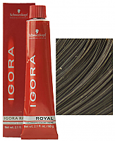SCHWARZKOPF PROFESSIONAL IGORA ROYAL HAIR COLOR 5-1 Light Brown Cendre 60mL