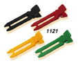 Double Pronged Nylon Curl Clips-Asstd Colours-100/box